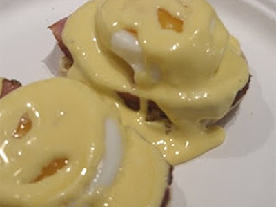 Butter Olive Oil Hollandaise Sauce