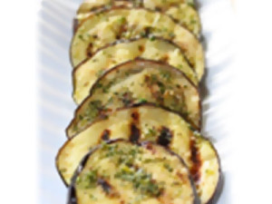 Neapolitan Herb Balsamic Marinated & Grilled Eggplant