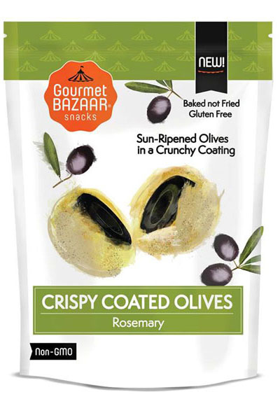 Crispy Coated Olives – Rosemary Flavor