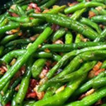 Garlic & Bacon Green Beans