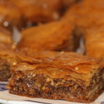 Honey & Blood Orange Fused Olive Oil Baklava