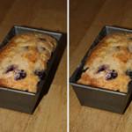 Whole Grain Lemon-Blueberry Tea Cake