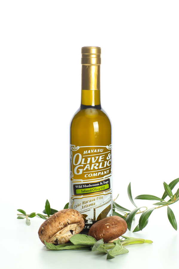 Wild Mushroon & Sage Infused Olive Oil