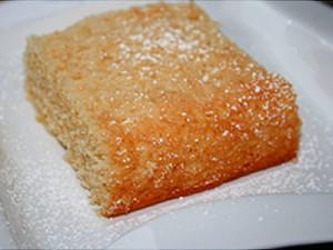 Lemon Agrumato (Fused) Olive Oil & Polenta (Stone Ground Cornmeal) Cake