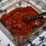 "Roasted Red Pepper & Caramelized Balsamic Onion ""Jam"""