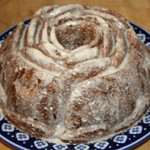 Olive Oil & Spiced Butternut Squash Bundt Cake With Bourbon Vanilla Glaze