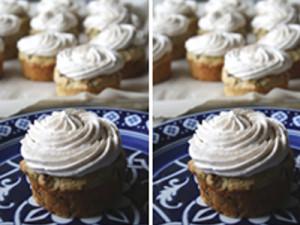 Whole Wheat Arbequina-Zucchini-Cranberry Muffins