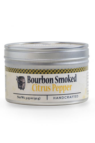 Bourbon Smoked Lemon Pepper