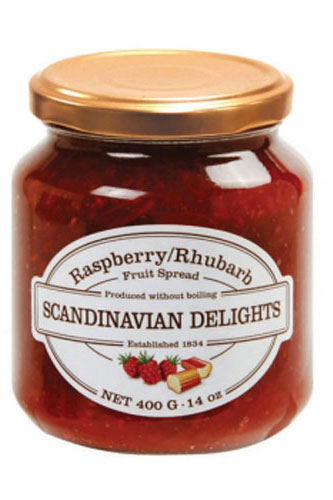 Raspberry Rhubarb Scandinavian Delight
