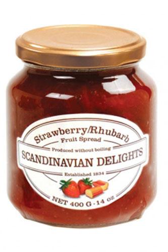 Strawberry Rhubarb Scandinavian Delight