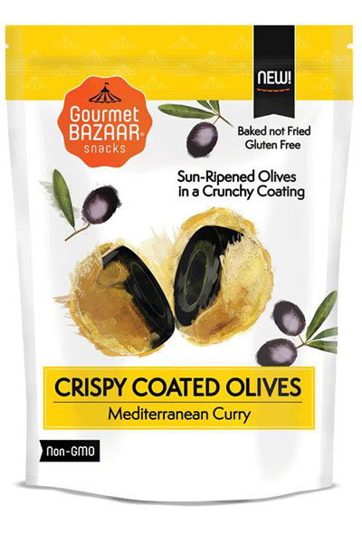 Crispy Coated Olives – Mediterranean Curry Flavor
