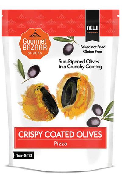 Crispy Coated Olives – Pizza Flavor