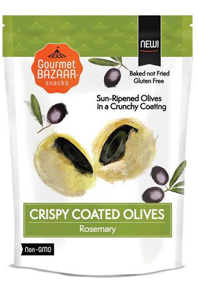 Crispy Coated Olives – Rosemary Flavor