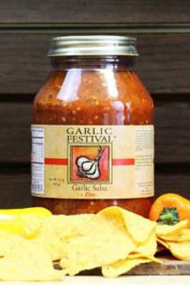 Spicy Garlic Salsa