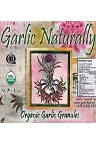 Roasted Organic Garlic Granules