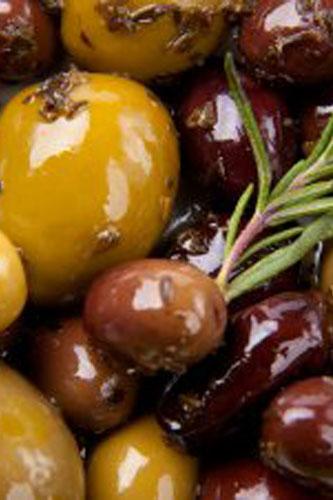 Roasted Herbed Olive Medley